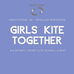Girls Kite Together