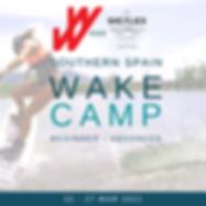 SPAIN WAKE CAMP w/Women Wakeboarding