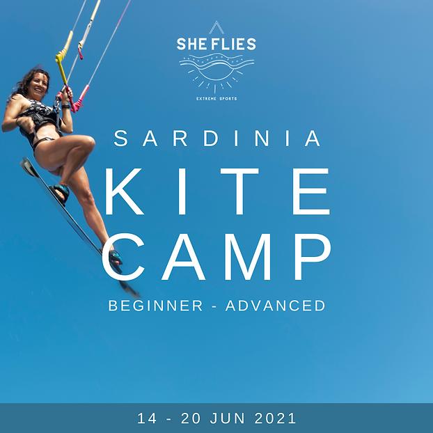 SARDINIA WOMENS KITE CAMP