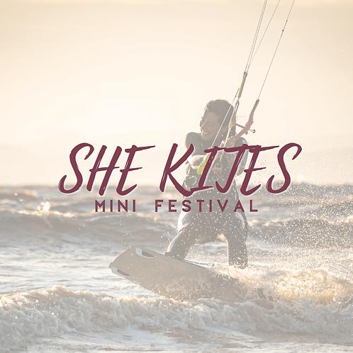She Kites Upgrade Ticket