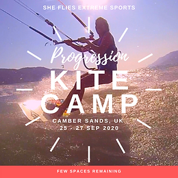 (SOLD OUT) UK KITE CAMP - PROGRESSION