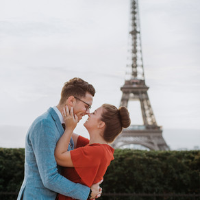 Ish & Jenna's Sunrise Session | Paris, France