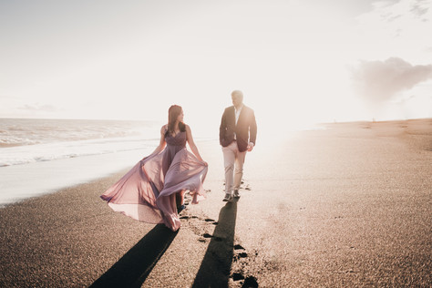 When You're Engaged...in Iceland - Reynisfjara Black Sand Beach