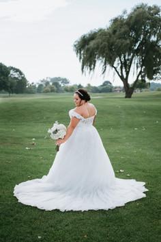Bridal Portraits. Taken at Arrowhead Golf Club in Wheaton, Illinois.