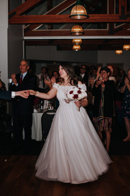 Leanna and Remy's first dance. Taken at the Randall Oaks Golf Club In West Dundee, Illinois.
