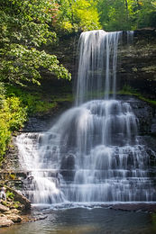 Cascade Falls in Pembroke, Virginia