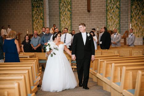 Mr. and Mrs. Pattara. Taken at St James the Apostle Catholic Church in Glen Ellyn, Illinois.