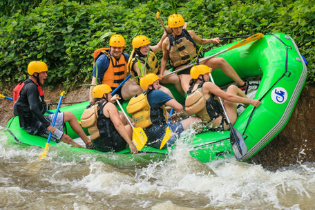 Down the Rapids of the Balsa River
