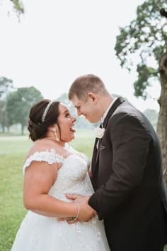 Bride and Groom Portraits. Taken at Arrowhead Golf Club in Wheaton, Illinois.