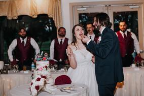 The James Wedding Reception