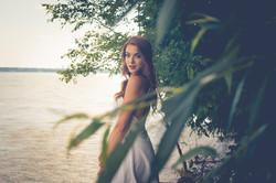 Portrait on Lake Michigan