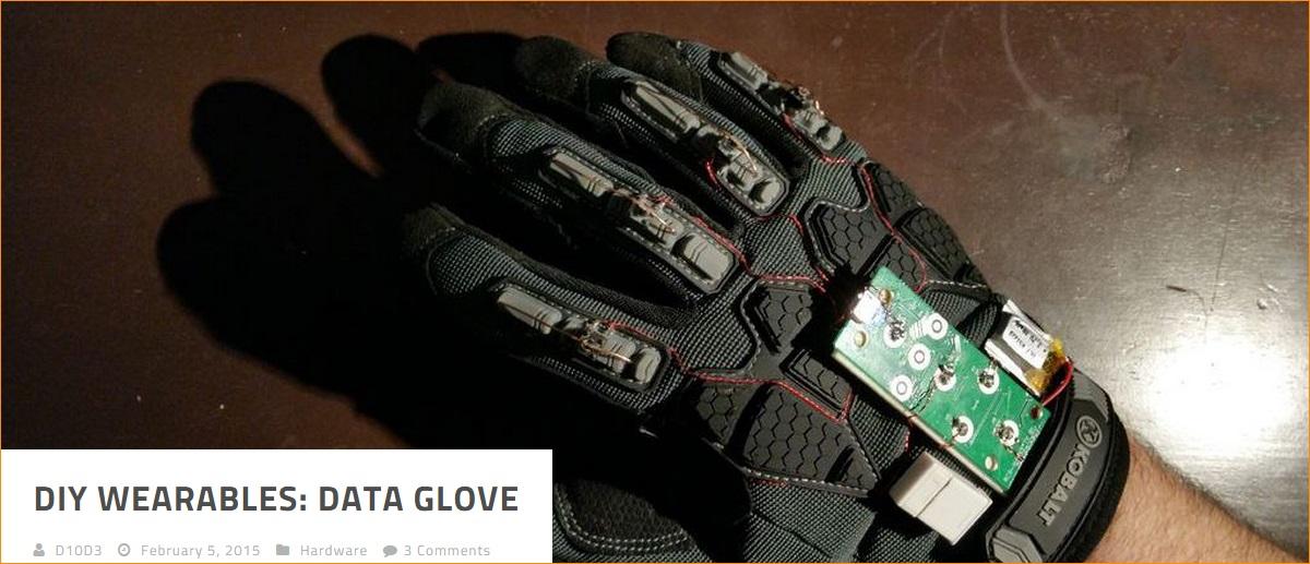 DIY Wearables: Data Glove