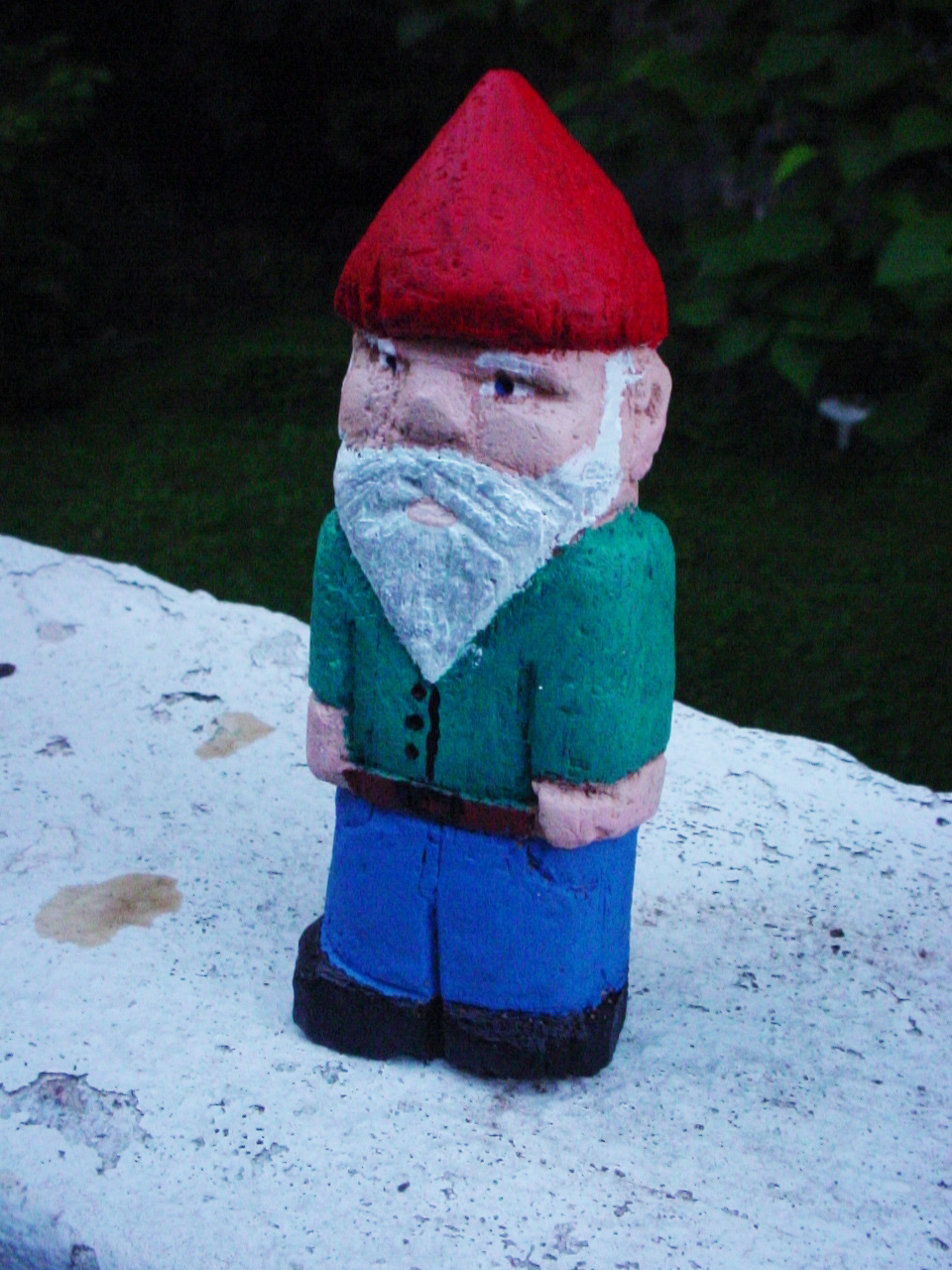 My first attempt at gnome carving