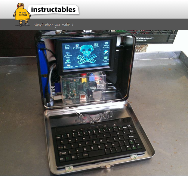 Lunchbox Computer with Raspberry Pi