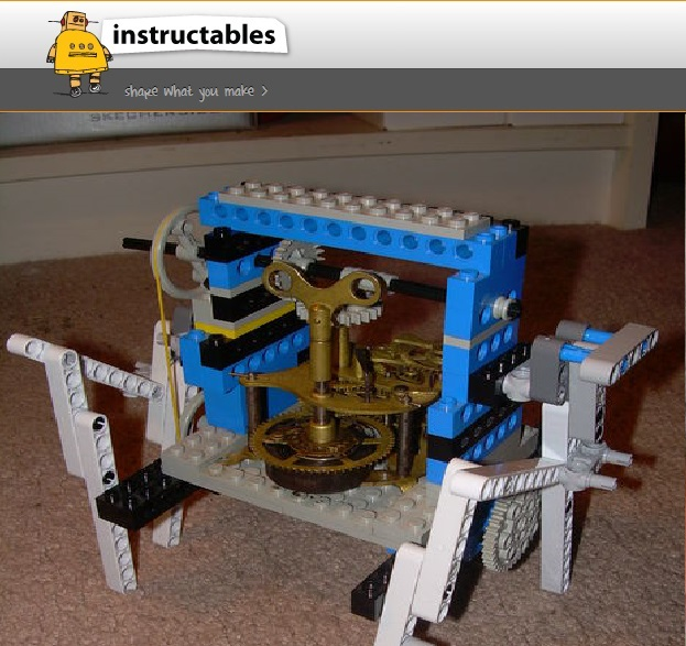 Klokwerx: Lego/Clockwork Walker