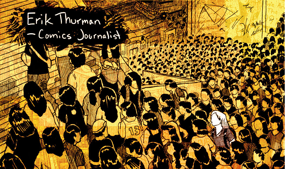Erik Thurman comics journalism