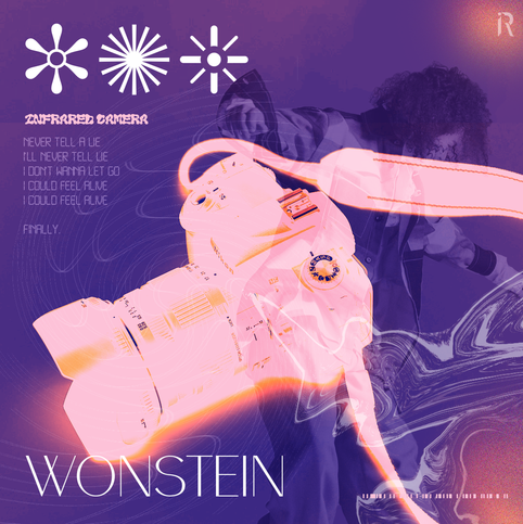 """Graphic for Wonstein's """"Infrared Camera"""""""