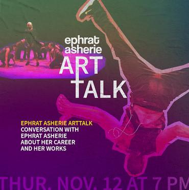 ArtPower - Ephrat Asherie Dance Residency Digital Poster