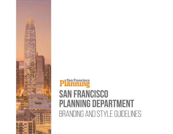 San Francisco Planning Branding Guidelines