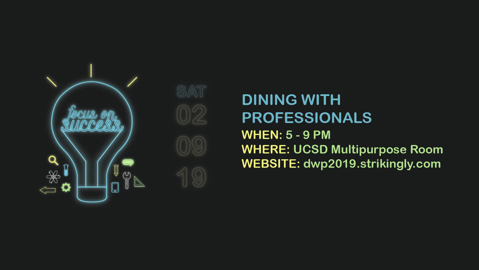 Dining With Professionals 2019