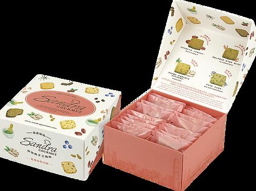 精緻曲奇禮盒 - 香港出奇口味 Hong Kong Flavour Cookie Paper Box
