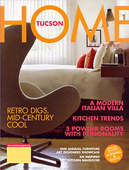 Tucson Home Magazine Cover Winter 2004-05