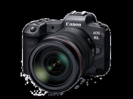 眾望所歸 Canon EOS R5