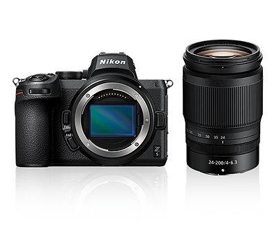 Nikon Z5 24-200mm  f/4-6.3 VR 單鏡套裝售價$18,400 (訂金$2,400)