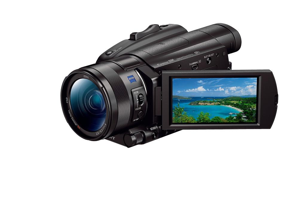 FDR-AX700 快速混合自動對焦 4K HDR 超高清攝錄機
