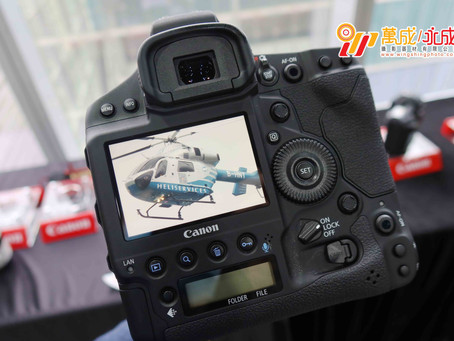 Canon EOS-1D X Mark III 上手試玩