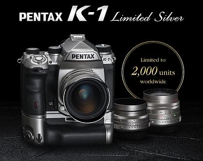 Pentax K1Sliver Limited Edition
