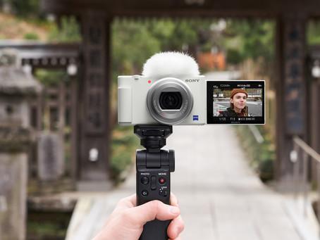 Sony 推出全新雪白色Vlog數碼相機ZV-1