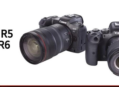 Canon EOS R5 / R6 正式登場