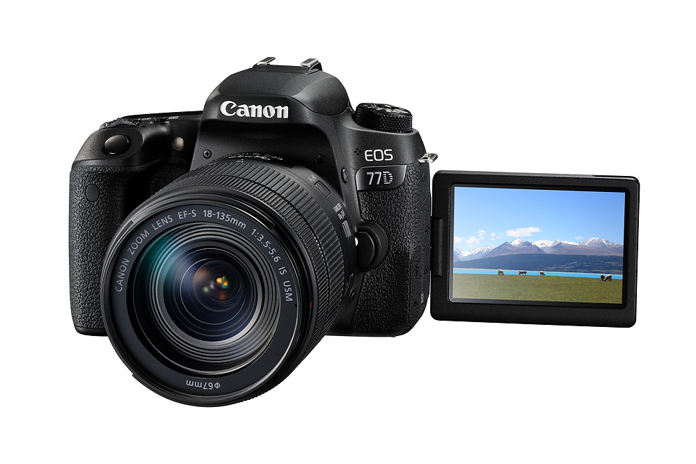 Canon 77D 產品介紹