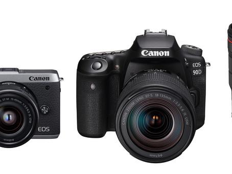 Canon 新一輪產品即將登陸