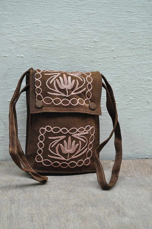 Kotsa | Women Leather Handbag | Kashmiri Women Handbag | Tote Leather Bag | VB07