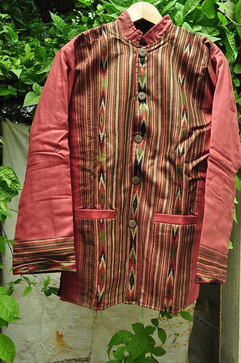 Kotsa | Women Silk Jacket | Casual Silk Jacket | Silk Reversible Jacket | KVJ27