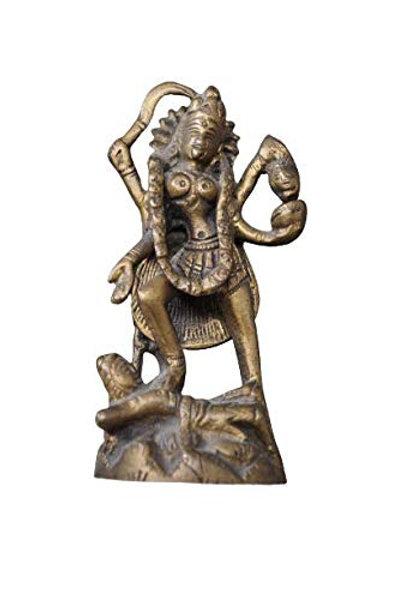 Kotsa | Kali Sculpture | Kali God Statue | Kali Sitting Statue | Kali God VH12