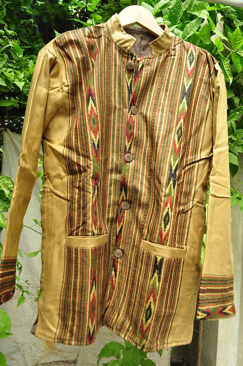 Kotsa | Women Silk Jacket | Casual Silk Jacket | Silk Designer Jacket | KVJ25