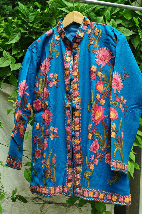 Kotsa   Women Silk Jacket   Casual Silk Jacket   Silk Designer Jacket   KVJ30