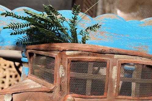 Indian Vintage Unique Home Decor Decorative Wooden Car