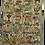 Thumbnail: Kotsa   Silk Carpet   Kashmiri Handmade Silk Carpet   Alphabet Carpet KC07