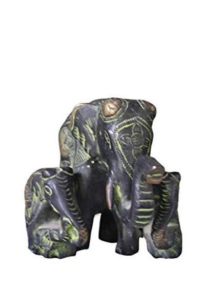 Kotsa | Elephant Family Sculpture | Elephant Family Statue | VH26