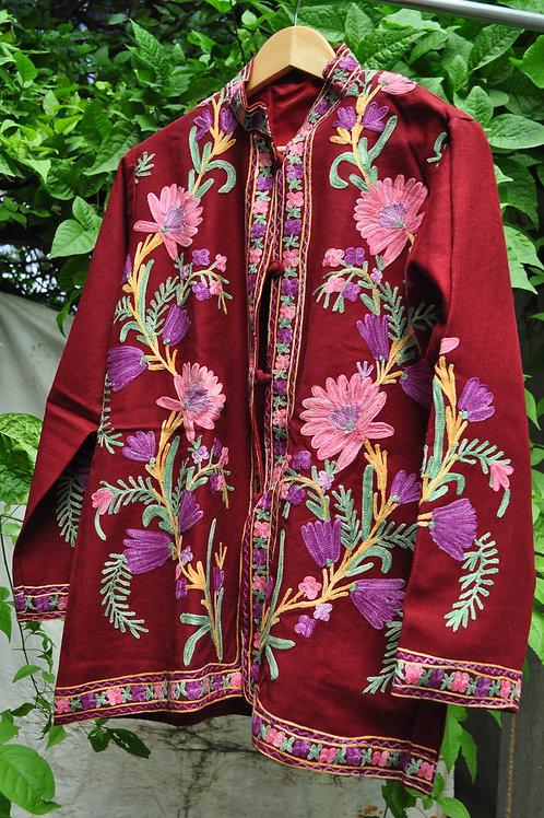 Kotsa   Women Silk Jacket   Casual Silk Jacket   Silk Designer Jacket   KVJ29