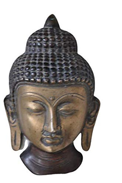 Kotsa | Buddha Face Sculpture | Buddha Face God Statue | Buddha Face | KV17