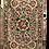 Thumbnail: Kotsa   Silk Carpet   Kashmiri Handmade Silk Carpet   Flower Pattern Carpet KC33