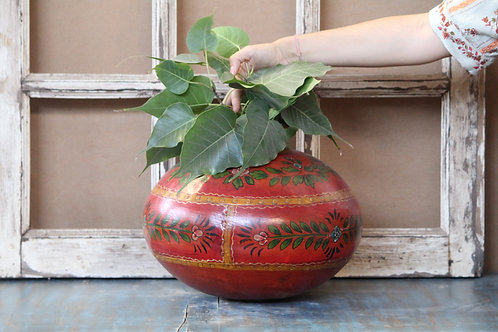 Indian Vintage Unique Home Decor Decorative Iron Pot