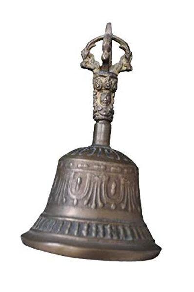 Kotsa | Antique Tibitan Bell | Tibitan Bell for Worship | Tibitan Bell | VH15