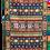 Thumbnail: Kotsa | Silk Carpet | Kashmiri Handmade Silk Carpet | Geometric  Carpet KC34