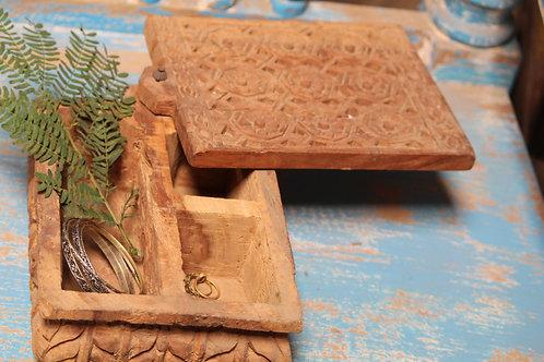 Indian Vintage Unique Home Decor Decorative Wooden Box